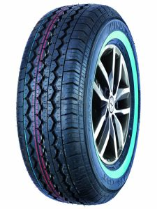 WINDFORCE 205/75R15C TOURING MAX 109/107R TL White Wall #E WI142W1